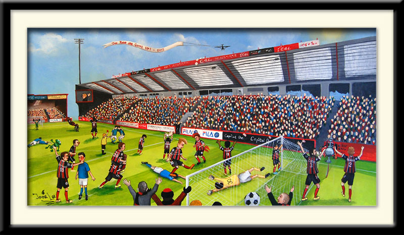 AFC Bournemouth prints